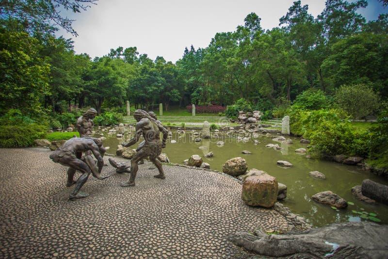 Jardin botanique de sud de la Chine images libres de droits