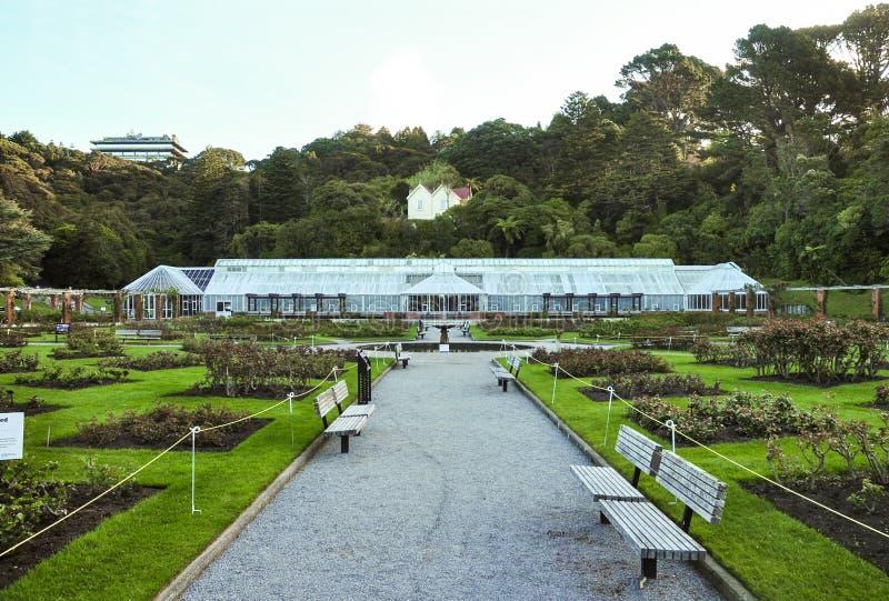 Jardin botanique de Wellington images stock