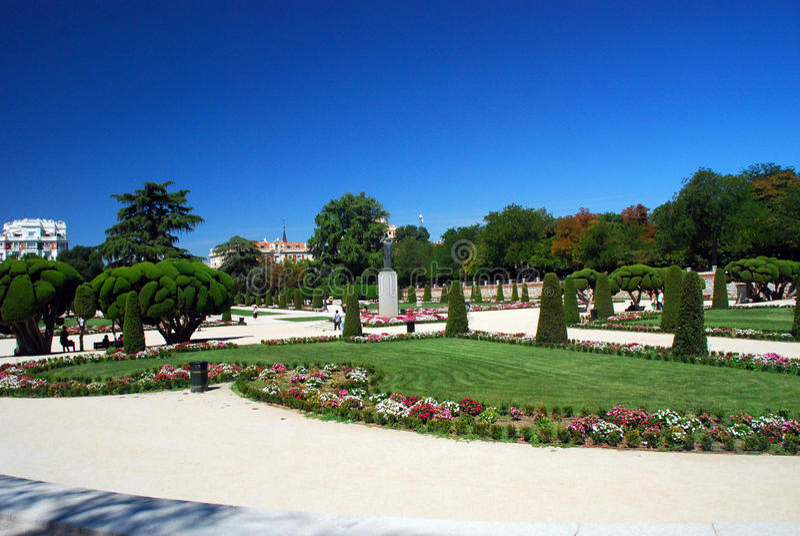 Jardin botanique royal de Madrid, Espagne photo libre de droits