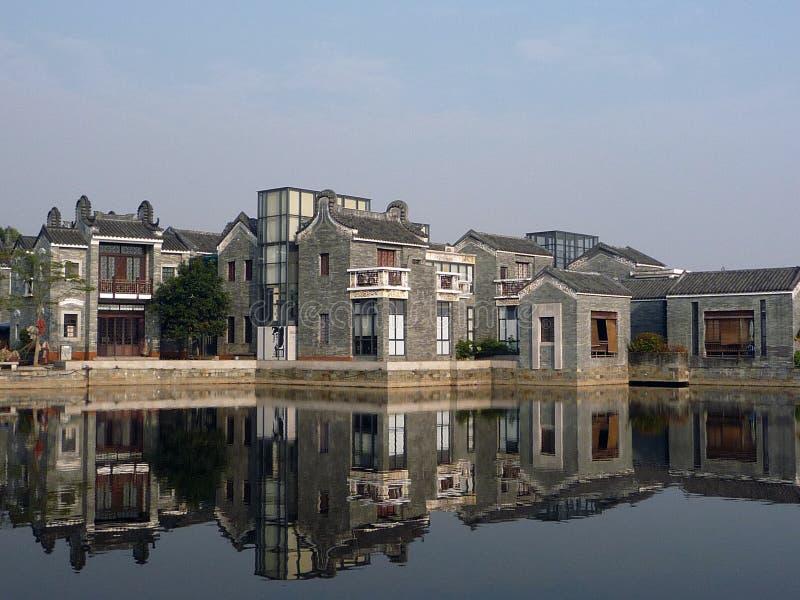 jardin Chine d'impression de Ling-nan photo libre de droits