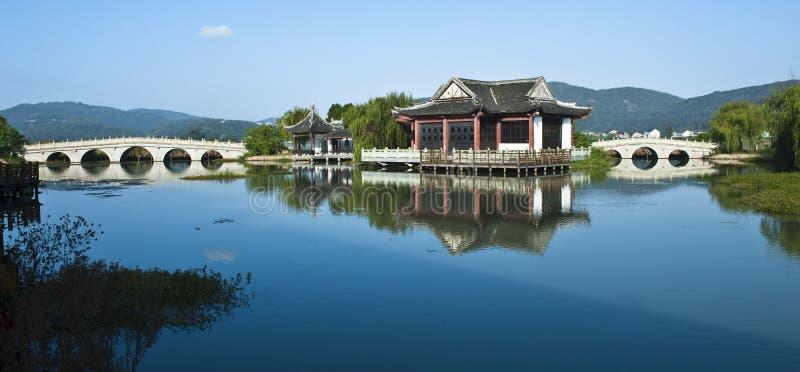 Jardin chinois photo libre de droits