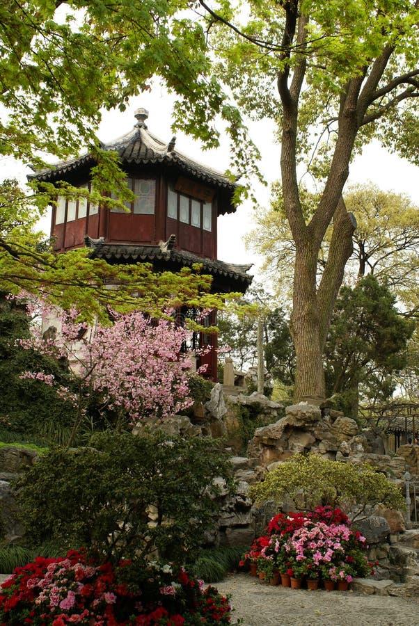 Jardin chinois de Suzhou photos stock
