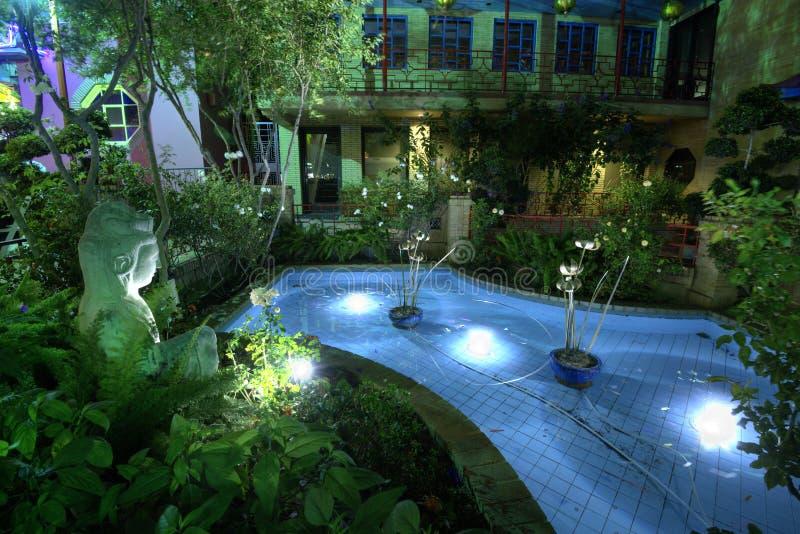 Jardin chinois Los Angeles image stock. Image du décoration - 58043339