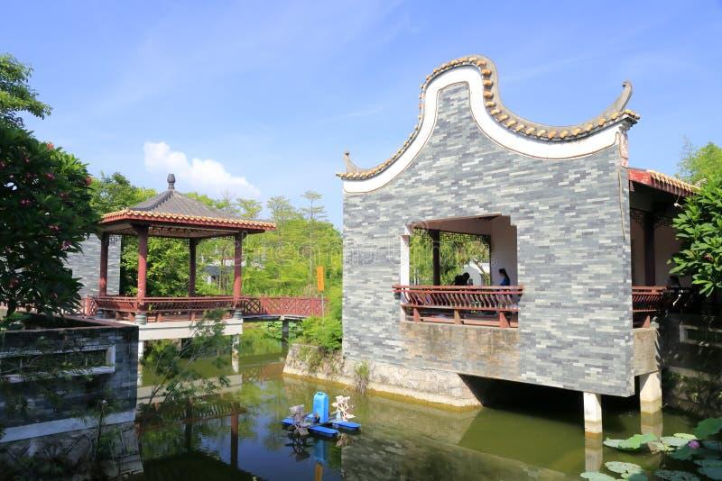 Jardin classique chinois image stock