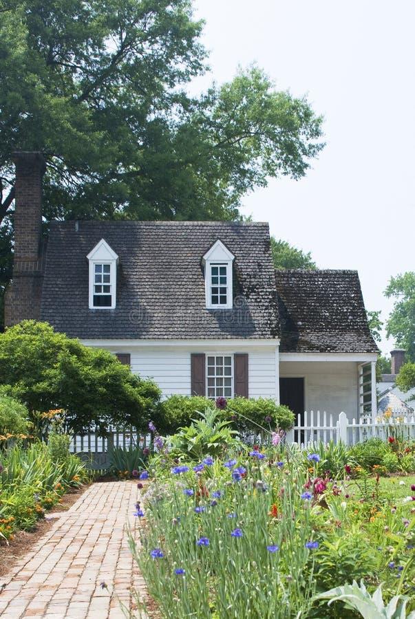 Jardin colonial photo libre de droits