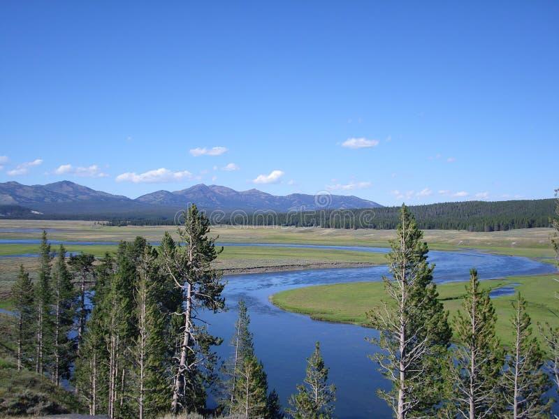 Jardin d'Éden dans Yellowstone photos stock