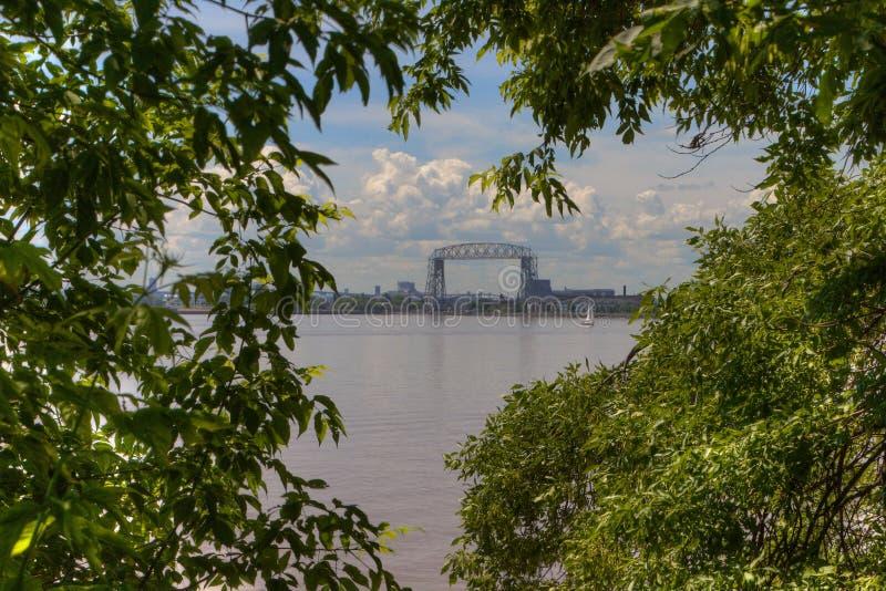 Jardin d'agrément du ` s de Duluth en été photographie stock libre de droits