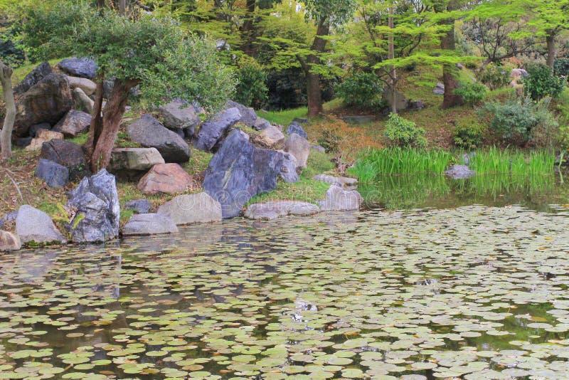 jardin d'en de shosei chez le Japon photo stock