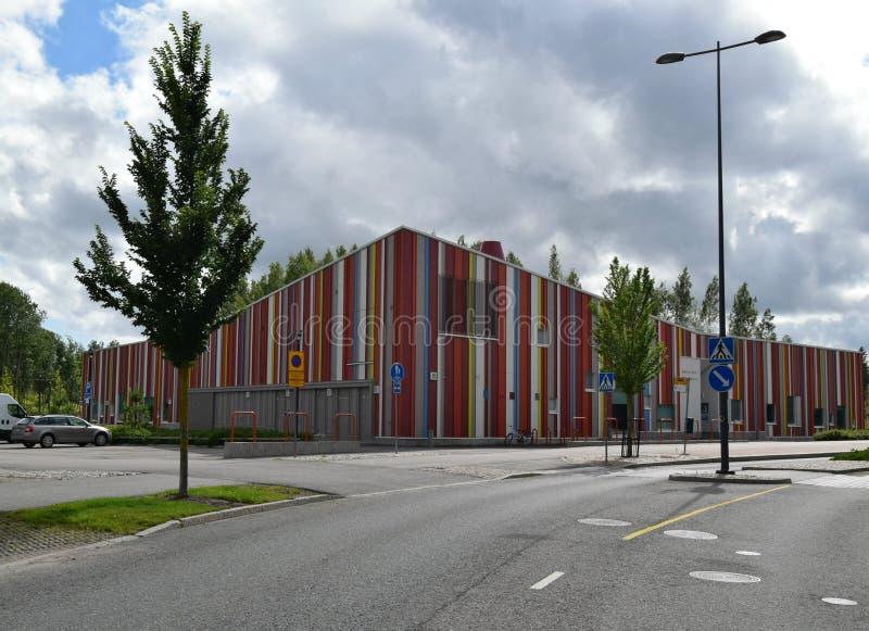 Jardin d'enfants dans Espoo, Finlande photographie stock libre de droits