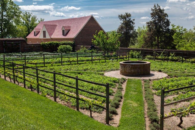 Jardin dans le bâti Vernon Plantation photographie stock libre de droits
