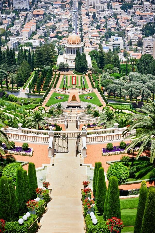Jardin de Bahai photos stock