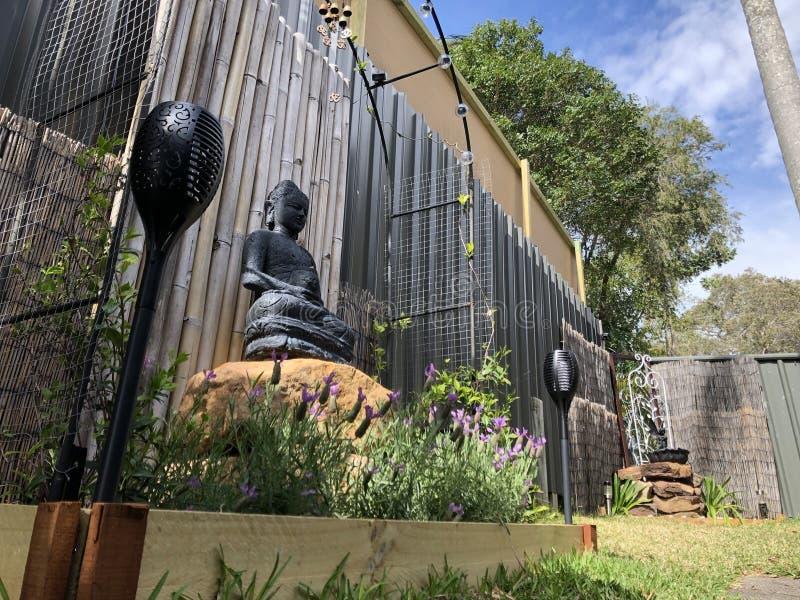 Jardin de Bouddha image libre de droits