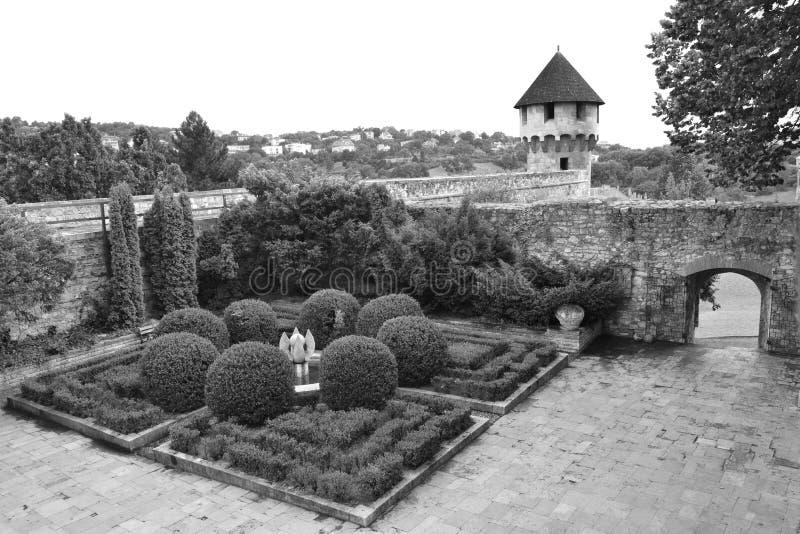 Jardin de château de Buda image libre de droits