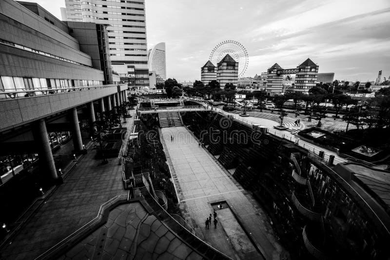 Jardin de chantier de construction navale, Yokohama Japon photographie stock
