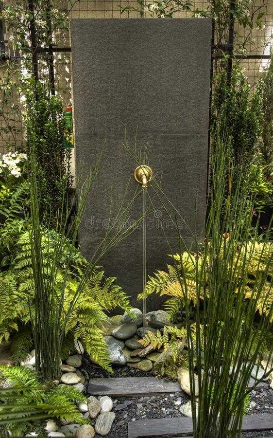 jardin de fontaine image stock