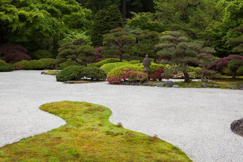 Jardin de Japonais de Portland images libres de droits
