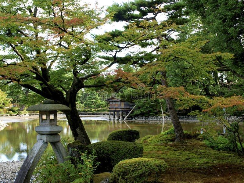 Jardin de Kenrokuen photographie stock