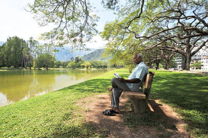 Jardin de lac Taiping photo stock