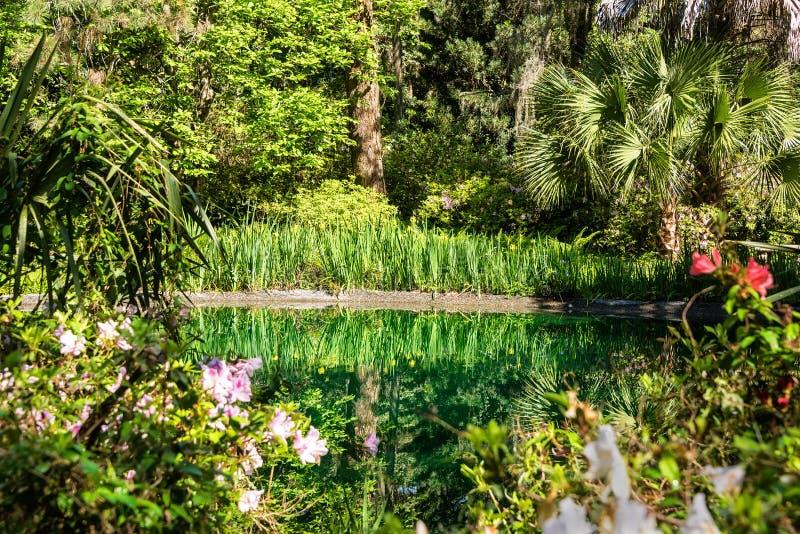 Jardin de Lanscaped photos stock