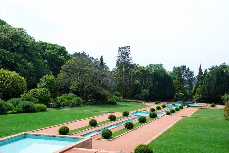Jardin de luxe photo libre de droits