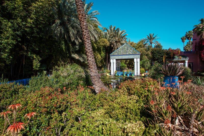 Le Jardin De Majorelle Est Un Jardin Botanique Et Le ...