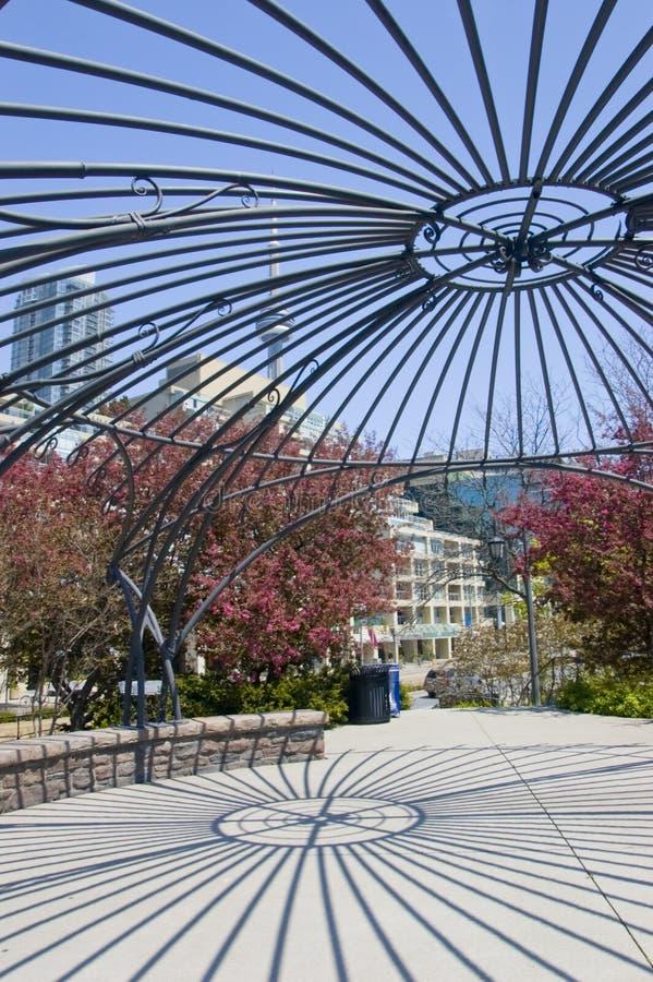 Jardin de musique de Toronto image stock