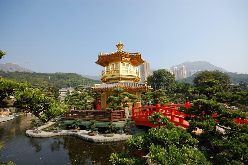 Jardin de Nan Lian photo libre de droits