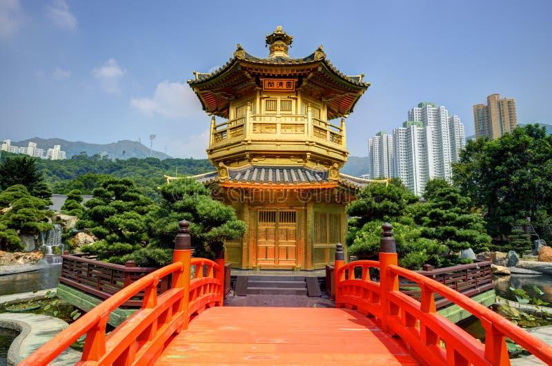 Jardin de Nan Lian photos stock