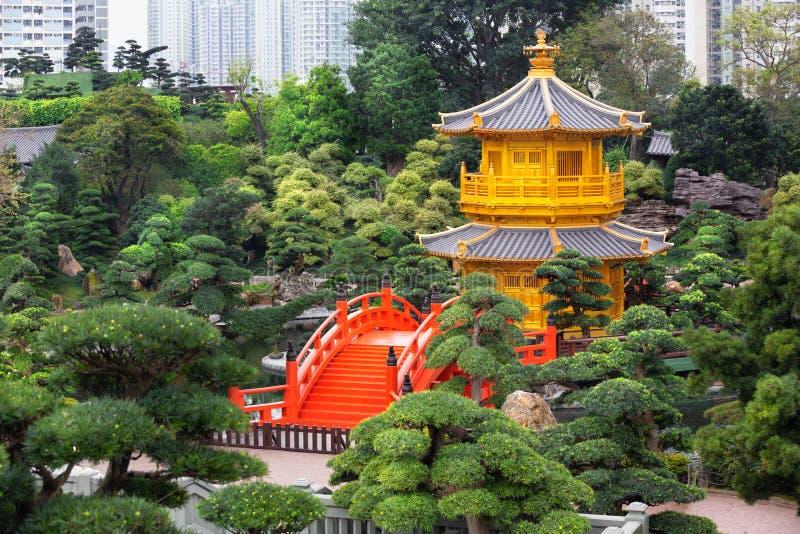 Jardin de Nan Lian photographie stock libre de droits