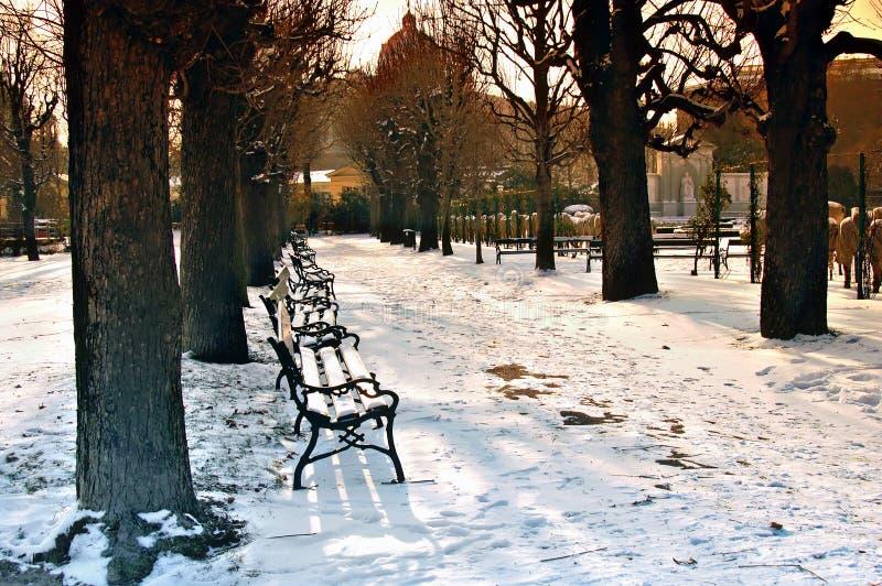 Jardin de nation de Vienne photo libre de droits