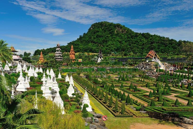 Jardin de Nong Nooch à Pattaya photo libre de droits