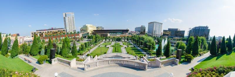 Jardin de palais d'IaÈ™i et mail culturels de Palas images libres de droits