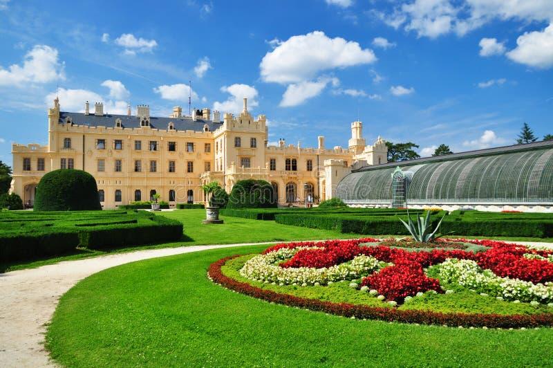 Jardin de palais de Lednice images stock