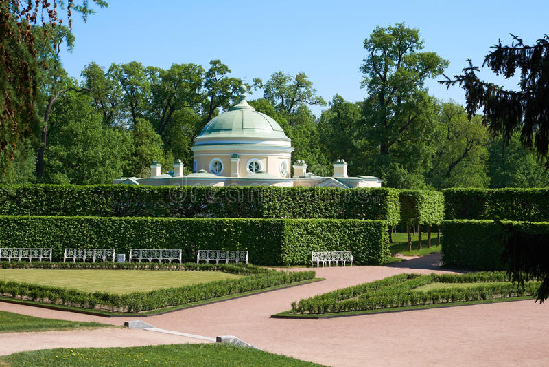 Jardin de parc de Catherine chambrette photos libres de droits