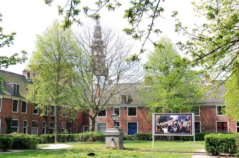 Jardin de Proveniers à Haarlem, Pays-Bas photographie stock