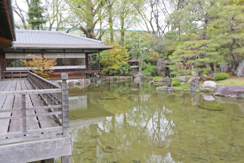 Jardin de Shosei ? Kyoto photographie stock
