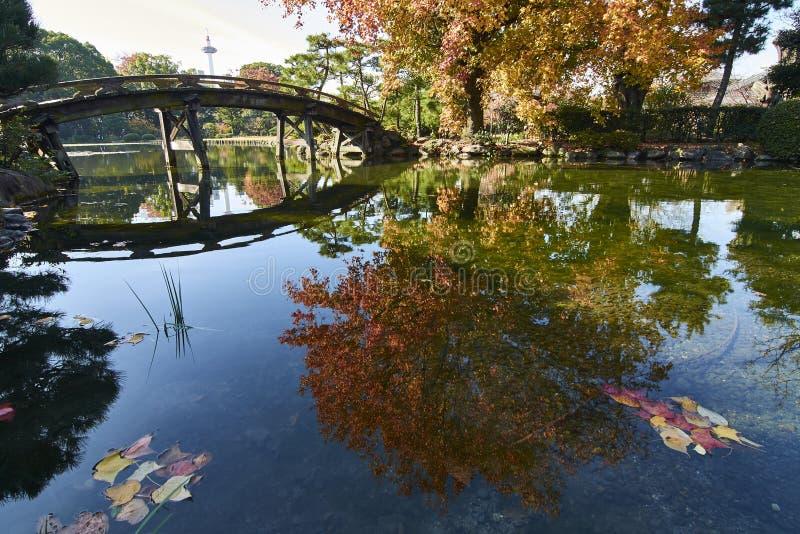 Jardin de Shosei-en d'E à Kyoto Japon photos libres de droits