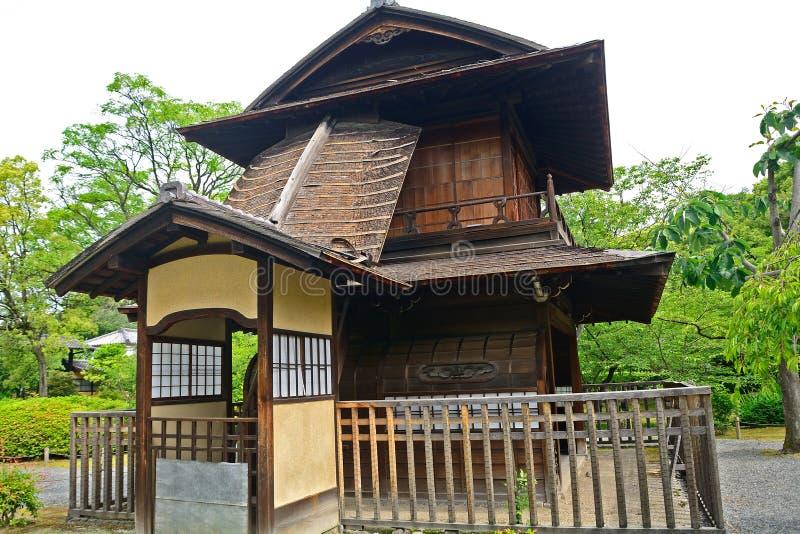 Jardin de Shosei, Kyoto, Japon image stock