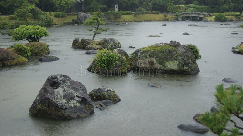 Jardin de Suizenji japan photographie stock libre de droits
