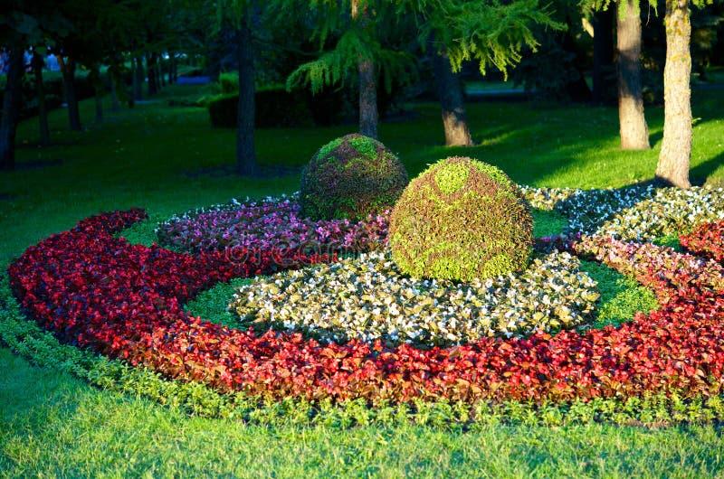 Jardin de ville. images stock