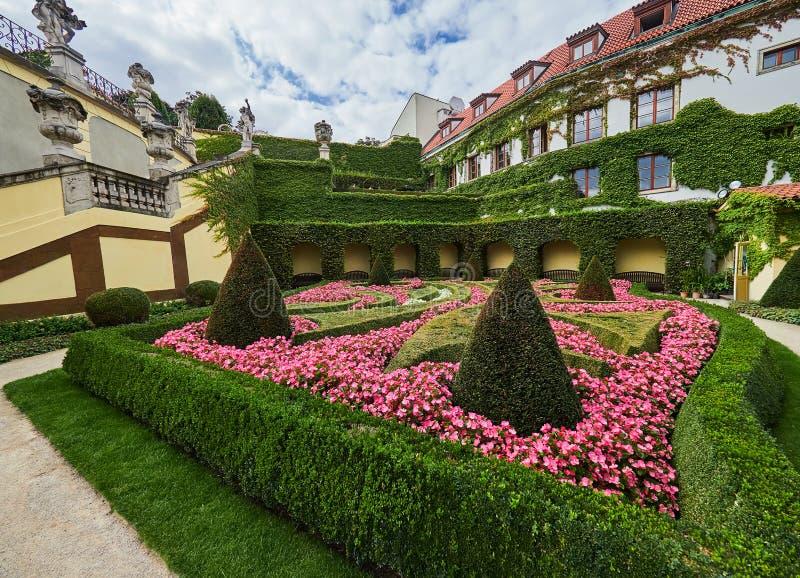 Jardin de Vrtba, Prague, République Tchèque photo libre de droits