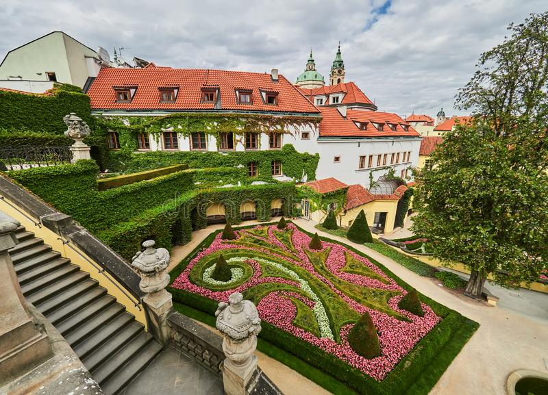 Jardin de Vrtba, Prague, République Tchèque photos libres de droits