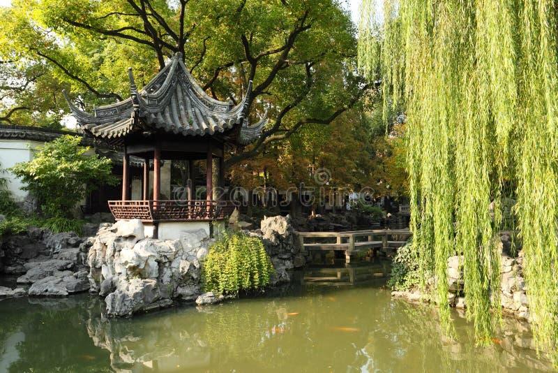 Jardin de Yuyuan à Changhaï photo libre de droits