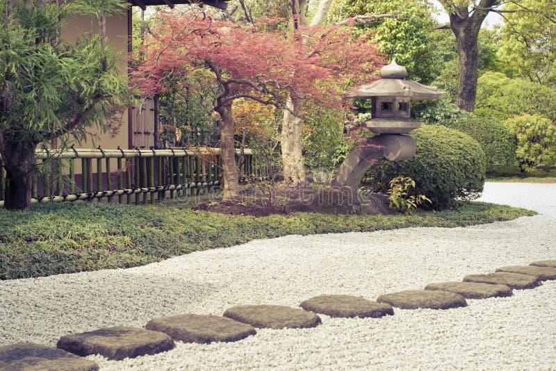 Jardin de zen images libres de droits