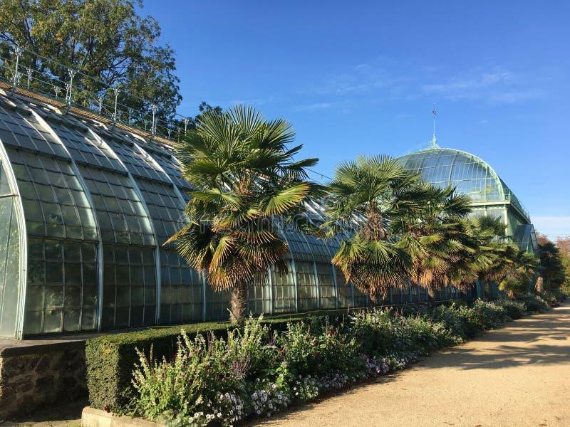 Jardin des Σέρρες δ ` Auteuil βοτανικός κήπος στο Bois de Boulogne στοκ φωτογραφία με δικαίωμα ελεύθερης χρήσης