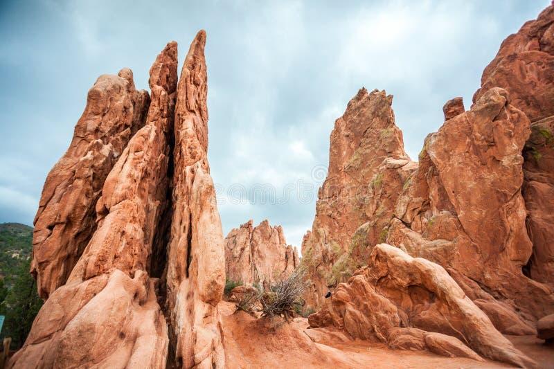 Jardin des dieux, le Colorado, Etats-Unis photo stock