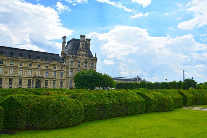 Jardin des Tuileries Tuileries ogród, 1564 Jardin des Tuileries jest jawnego ogródu lokalizować betwe obraz stock
