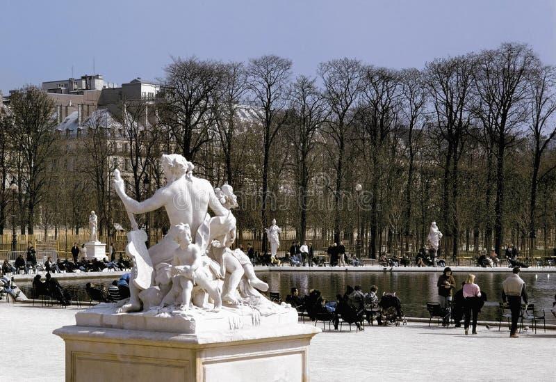 Download Jardin Des Tuileries Paris France Stock Image - Image: 1264085