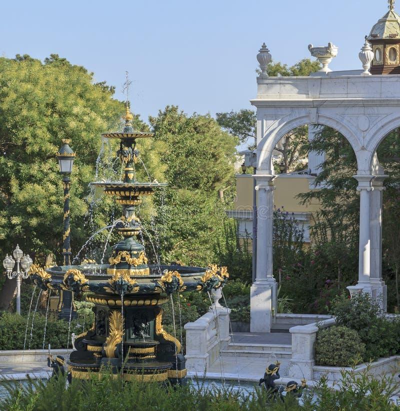 Jardin du gouverneur s à Bakou image stock
