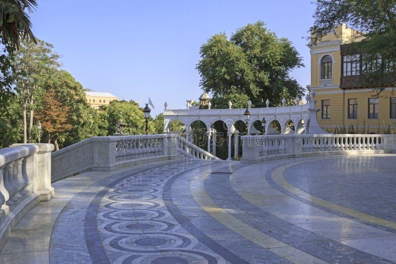 Jardin du gouverneur s à Bakou photographie stock libre de droits